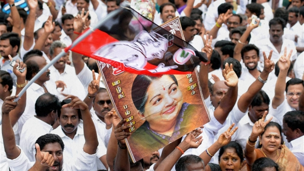 Jayalalithaa supporters. (Photo: PTI)