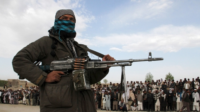 An armed agent of the Pakistan Taliban. (Photo: Reuters)