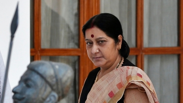 External Affairs Minister Sushma Swaraj. (Photo: Reuters)