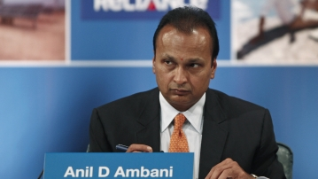 File image of Reliance Communication's chairman Anil Ambani.