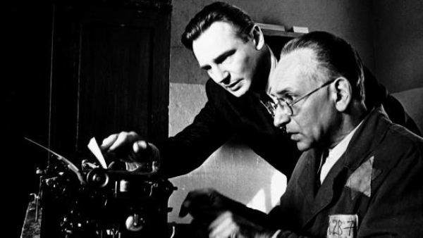 "The typewriter was the most powerful symbol of anti-Nazi resistance in the movie <i>Schindler's List</i>. (Photo: <a href=""https://www.facebook.com/SchindlersListMovie?ref=br_rs"">Facebook/Schindler's List</a>)"