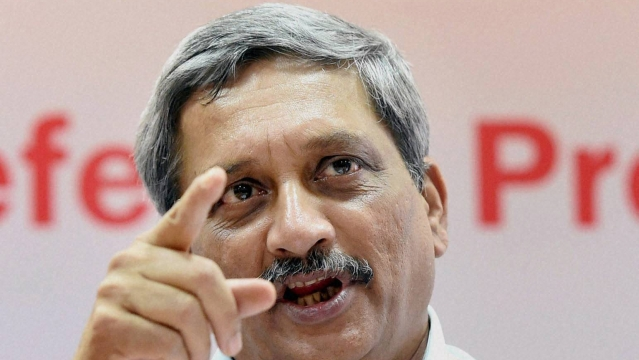 Defence Minister of India Manohar Parrikar. (Photo: PTI)