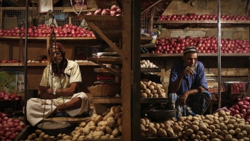 India's retail  inflation accelerated in October.