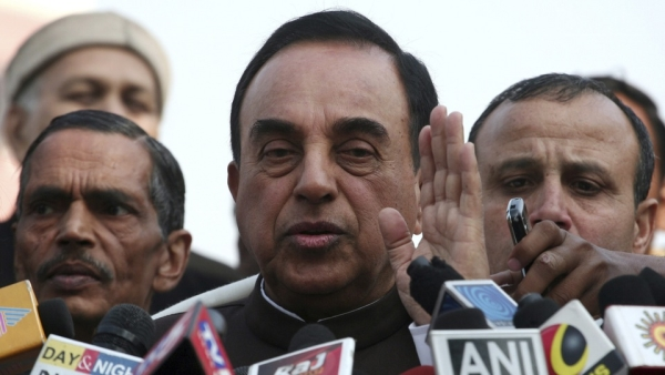 File photo of BJP leader Subramaniam Swamy.