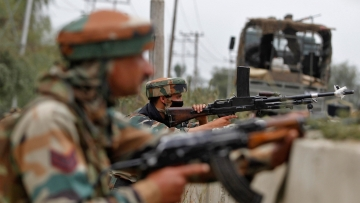 File photo of Indian army personnel. (Photo: Reuters)