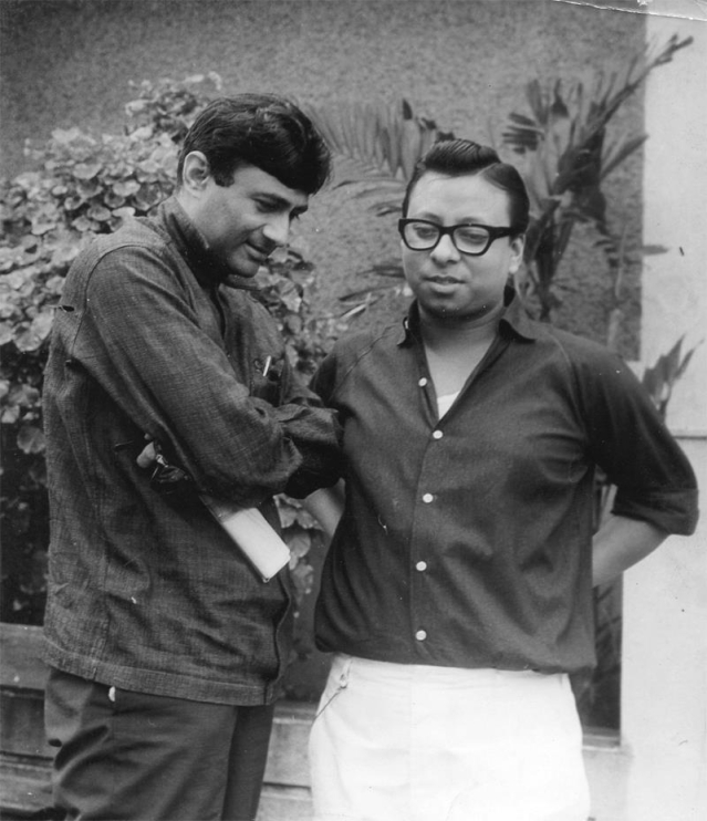 """Dev Anand withRD Burman (Photo: Facebook/<a href=""""https://www.facebook.com/pages/Pancham-Unmixed/391118874275789?sk=photos_stream"""">PanchamUnmixed</a>)"""