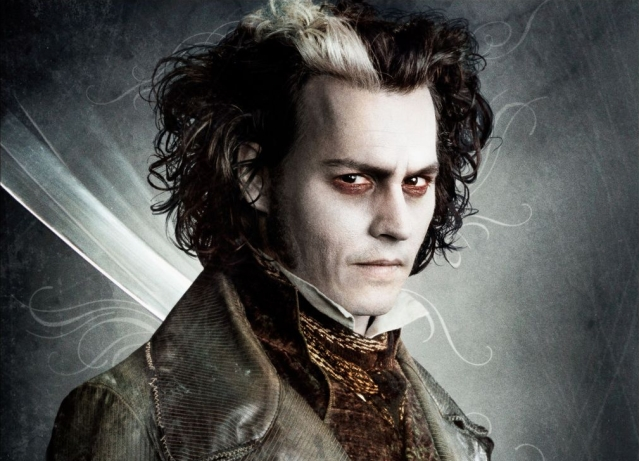 Johnny Depp as Sweeney Todd