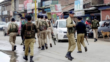 File photo of Jammu and Kashmir Police. (Photo: PTI)
