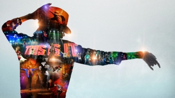 A promotional still designed forMichael Jackson's album <i>This Is It </i>