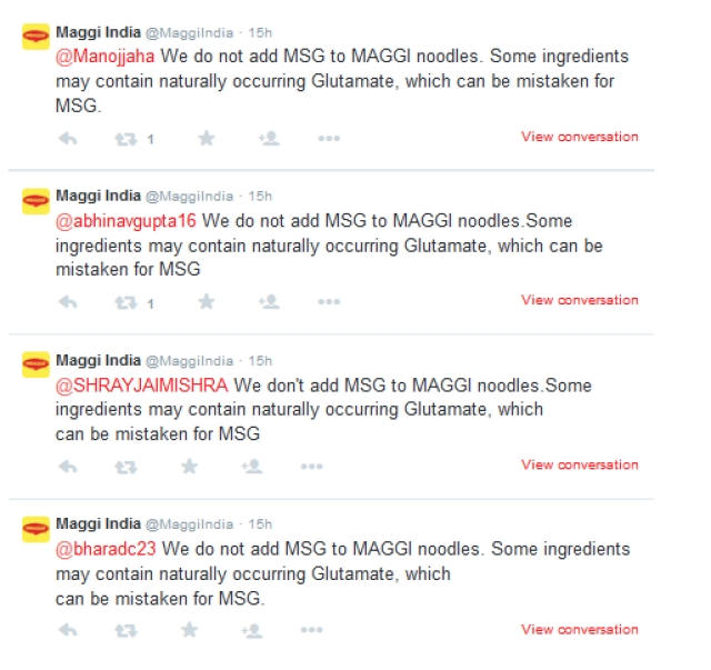 When your trust is jolted, the least consumers expect is a living, breathing, human response. Too much is it, Nestle India? (Photo:  Twitter/MaggiIndia)