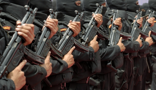 File image of National Security Guard (NSG) commandos. (Photo: Reuters)