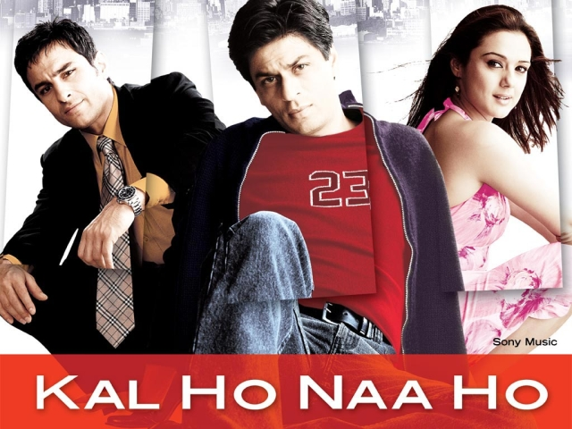 Film Poster: <i>Kal Ho Na Ho</i> produced by Karan Johar