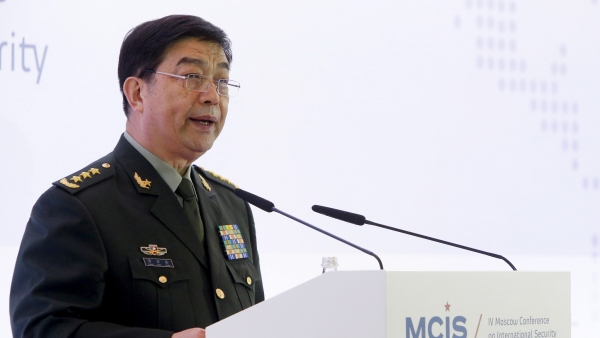 China's Defence Minister Chang Wanquan.
