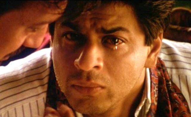 SRKin a scene from <i>Devdas </i>(2002)