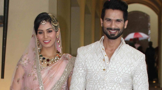 Shahid Kapoor and Mira Rajput Kapoor on their wedding day (Photo: Yogen Shah)