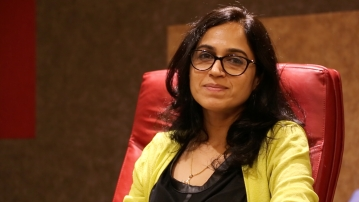<b>The Quint</b><i> </i>co-founder Ritu Kapur. (Photo: <b>The Quint</b>)