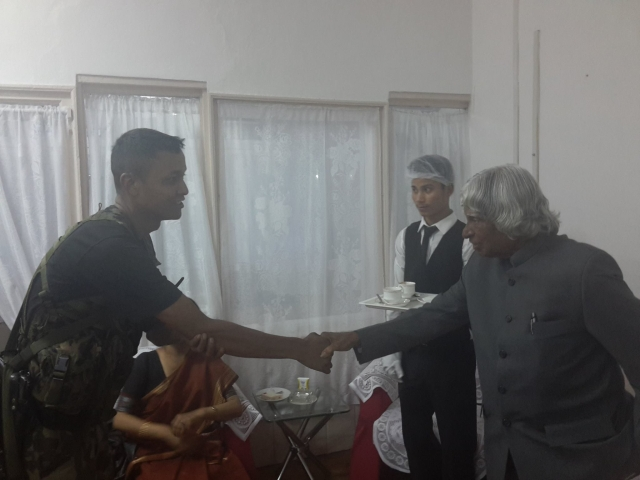 """I want to be remembered as a teacher"", Dr APJ Abdul Kalam."