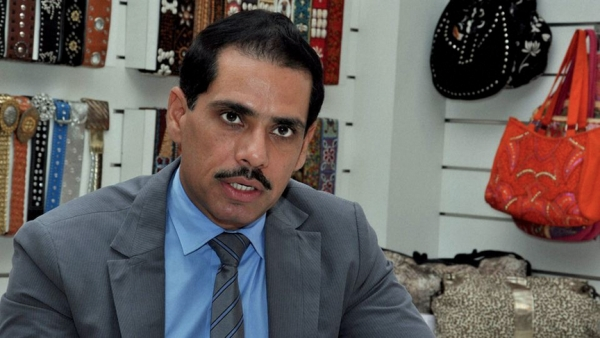 File photo of Robert Vadra, son-in-law of Congress party president Sonia Gandhi.(Photo: PTI)