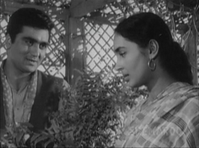 Sunil Dutt and Nutan in <i>Sujata</i>