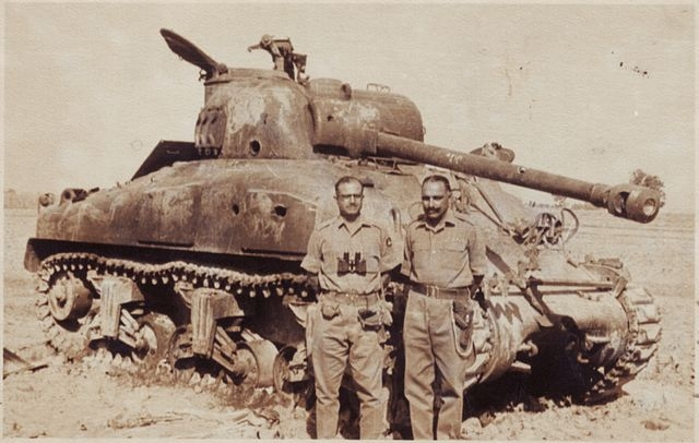 "Captured Sherman Tank of the Pakistani Army (Photo Courtesy: <a href=""http://www.indiandefensenews.in/2015/05/how-indian-army-destroyed-as-many-as.html"">Indian Defence News</a>)"