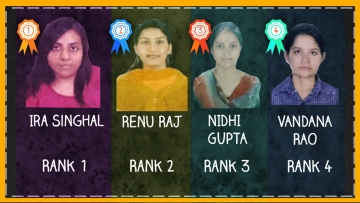 The toppers of the 2014 UPSC examinations. (Photo: The Quint)