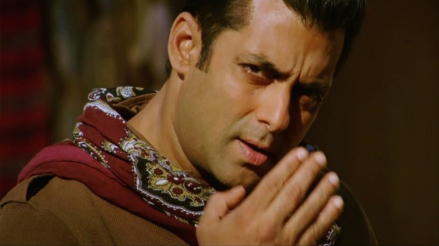 Salman Khan in a scene from <i>Ek Tha Tiger</i>