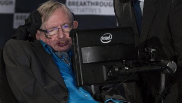 Professor Stephen Hawking at a media event to launch a global science initiative at The Royal Society in London. Image used for representational purposes only.