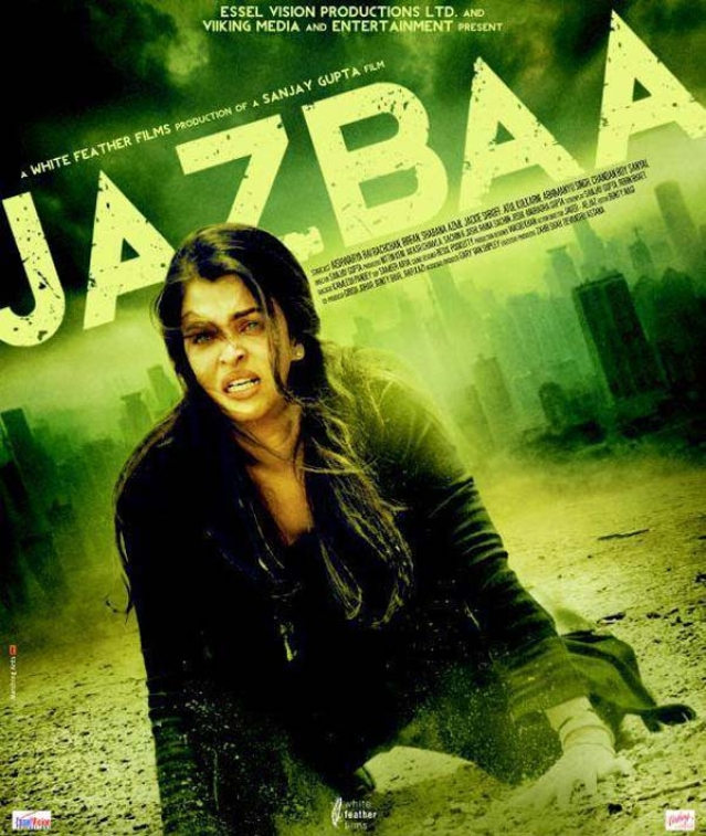 Movie poster of <i>Jazbaa </i>