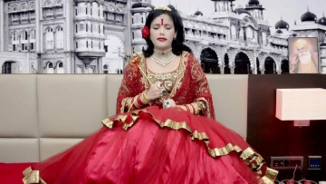 The piousness and piety of Radhe Maa and her controversies (Photo: Facebook.com/ShriRadheMaa)