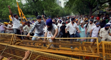 File photo of Sikhs during a protest demanding justice for the victims of 1984 anti-Sikh riots at Jantar Mantar in New Delhi.
