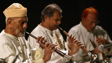 Shehnai maestro, Ustad Bismillah Khan. (Photo: Reuters)