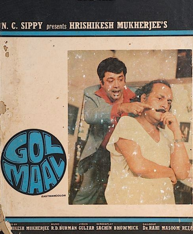 Poster for GolMaal (1979). (Photo: Twitter/@TheBombaySaga)