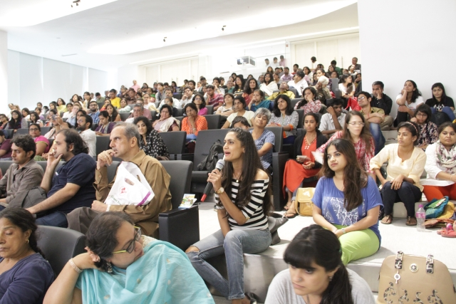 A packed house on the first day (Photo: Godrej Culture Labs)
