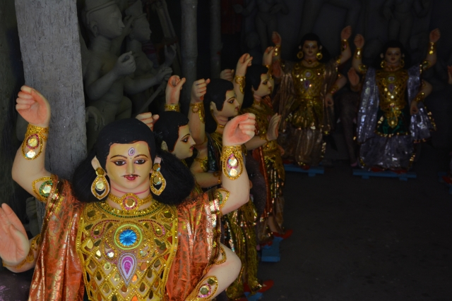 Kumartuli is legendary for the thousands and thousands of clay masterpieces it makes every year. (Photo Courtesy: Mahima Varma)