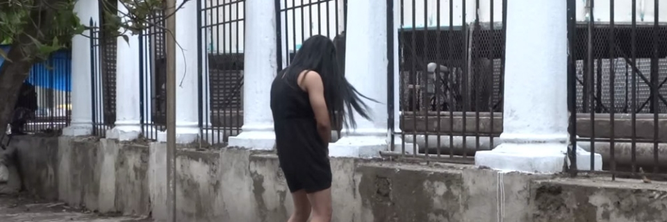 What will happen if a woman decides to pee in public? (Photo: Youtube