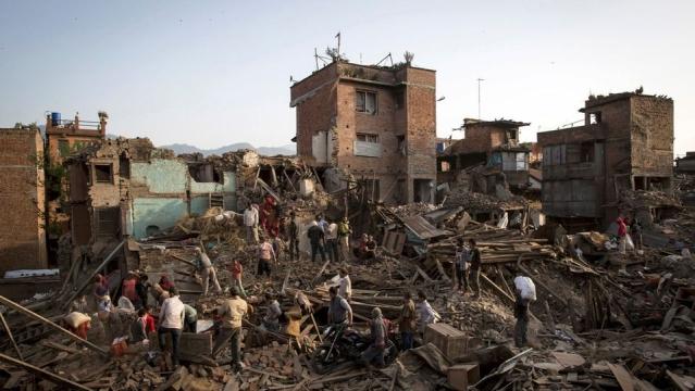 India pledges US$ 1 billion for Nepal's reconstruction. (Photo: Reuters)