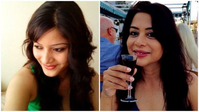 Sheena Bora (Left) and Indrani Mukerjea (Right) (Photo altered by The Quint)