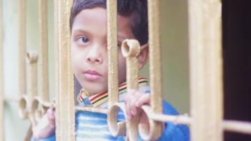 A still from the Bengali film, <i>Shunyo Je Kol</i> (The Empty Lap).