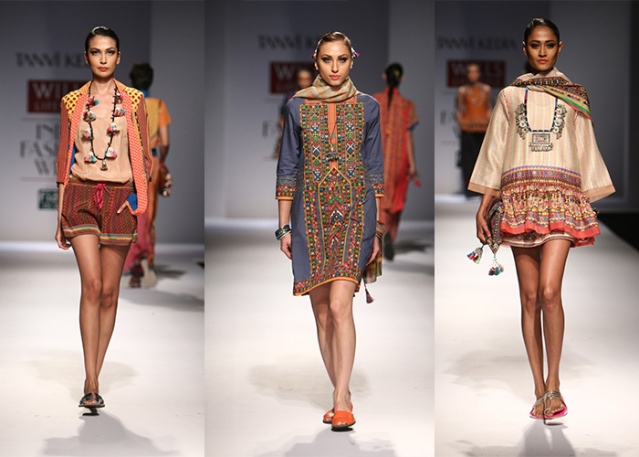 Pieces from designer Tanvi Kedia's collection. (Photo: Facebook/Tanvi Kedia)