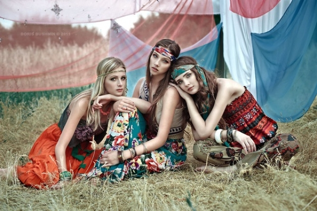 1970s boho fashion. (Photo: Tumblr)
