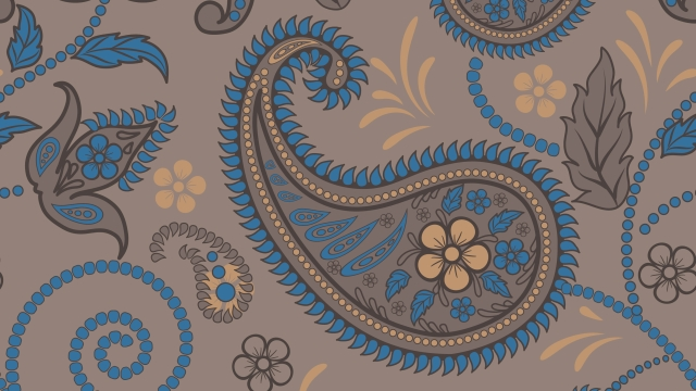 Indian paisley print. (Photo: iStockphoto)