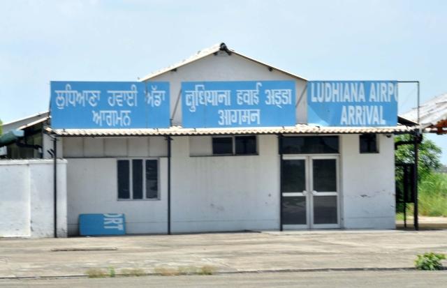 Ludhiana airport, or what's left of it. (Photo: Ravindra Arora)