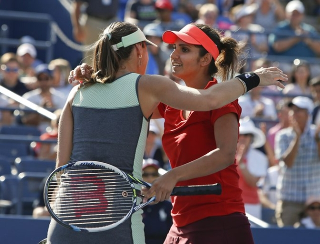 Mirza and Hingis are eyeing their eight title of the season. (Photo: AP)