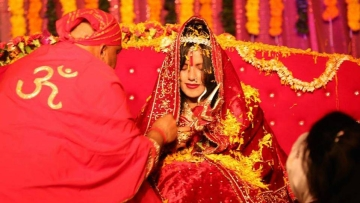"Sukhvinder Kaur aka Raadhe Maa. (Photo: <a href=""http://www.radhemaa.com/#/gallery"">RadheMaa Website</a>)"