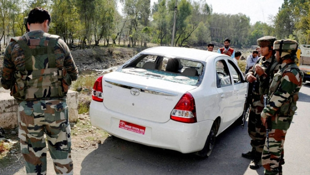 Ahmed was shot at in Bandipora area in Kashmir on Wednesday morning. (Photo: PTI)