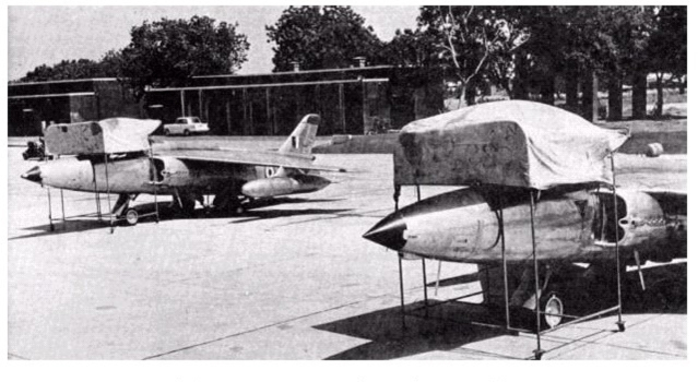 Gnat aircraft at an Indian Air Force base in 1965. (Photo: CombatReform.com)