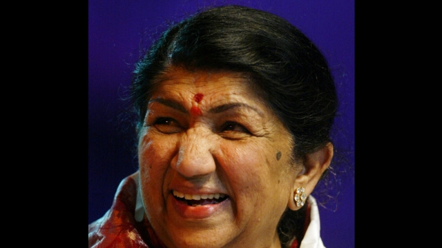 Lata Mangeshkar (Photo: Reuters)