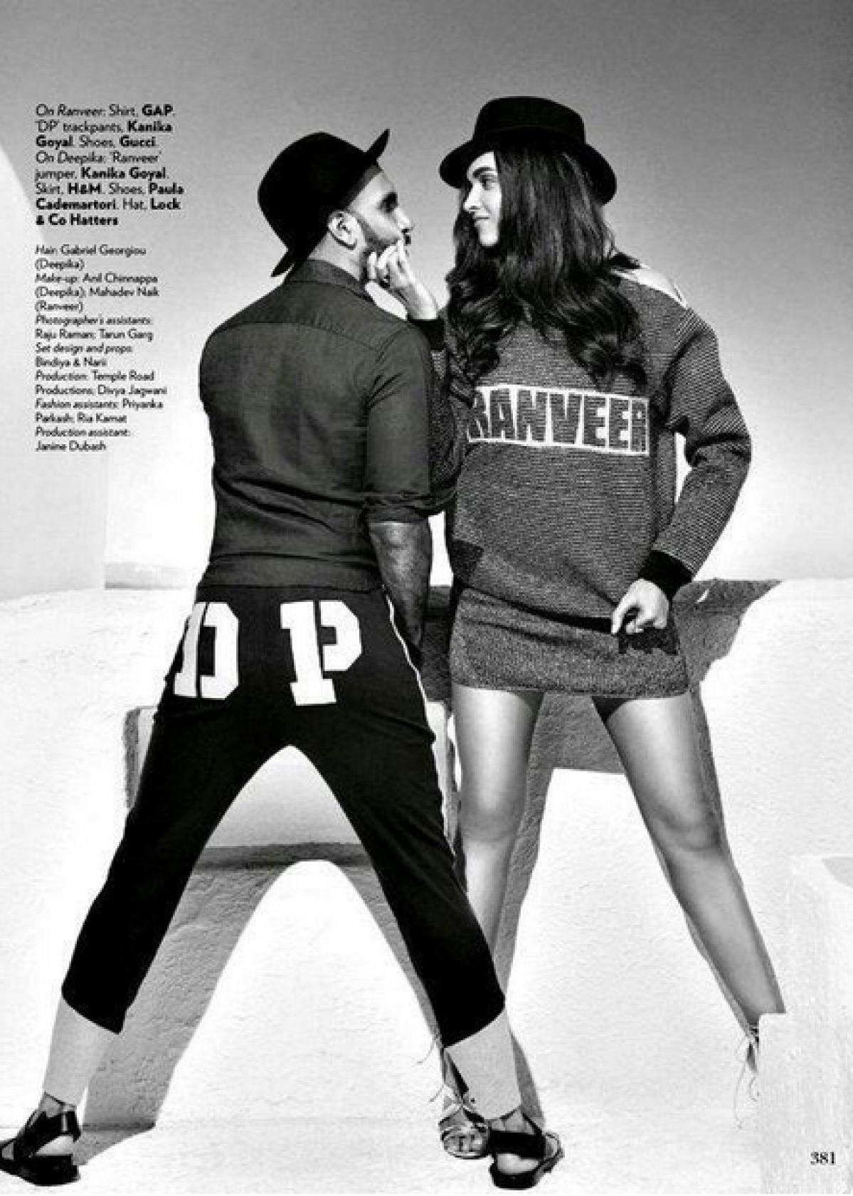 Ranveer Singh, Deepika Padukone's Scorching Hot Vogue