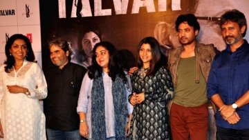 Team <i>Talvar </i>at a promotional event