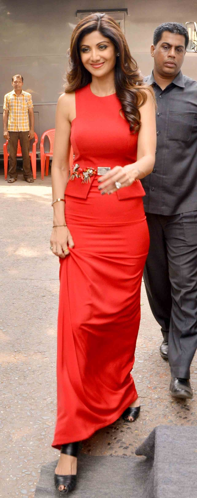 Shilpa Shetty on the sets of <i>Jhalak Dikhhla Jaa </i>(Photo: Yogen Shah)